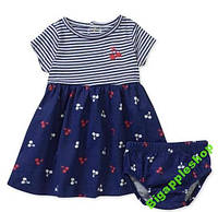 Платье 2в1 Carter's(США)на 6-9мес.