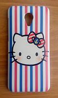 Пластиковый чехол для Meizu M2 Mini Hello Kitty