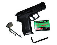Пневматический пистолет KWC KM 47: копия Sig Sauer SP2022, 120 м/с, шарики BB 4,5 мм, СО2 12 г