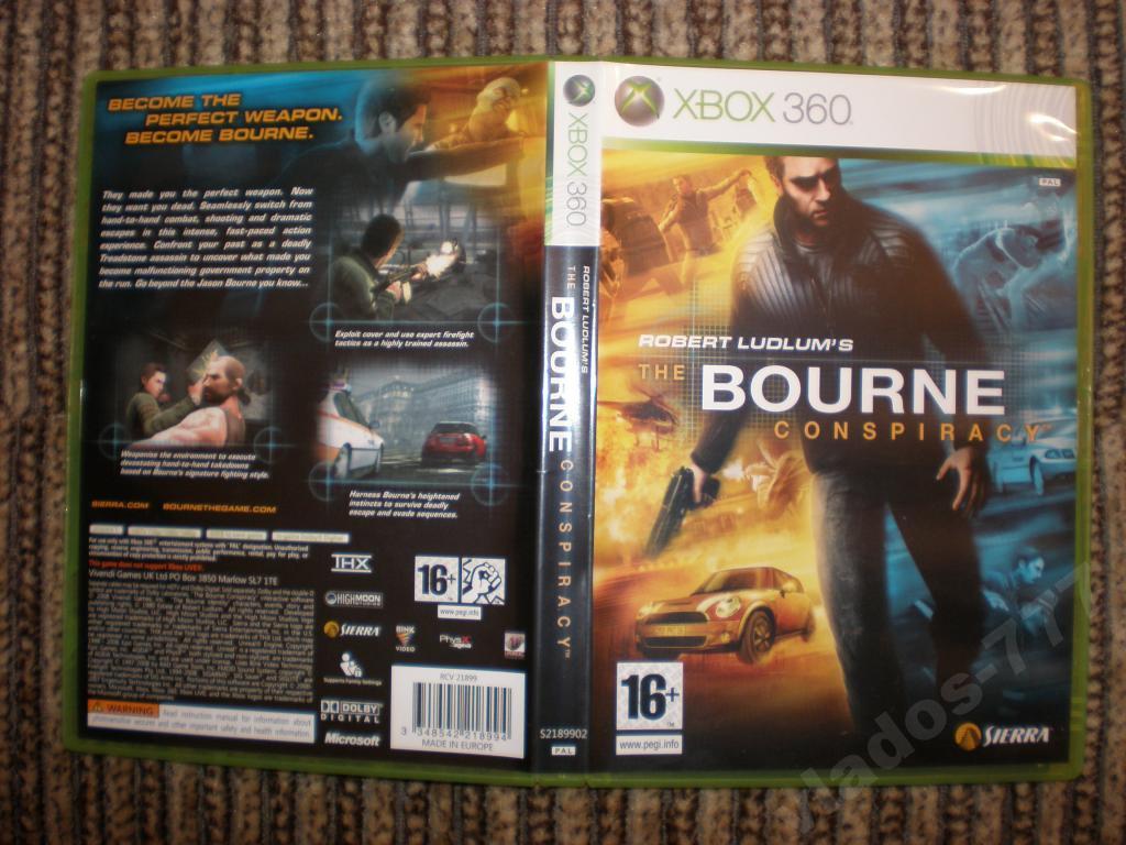 The Bourne Conspiracy для xbox 360 лицензия