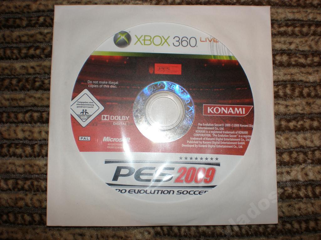 Pes 2009 для xbox 360 лицензия