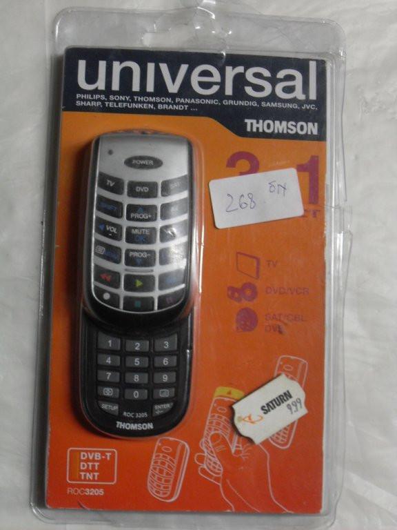 Універсальний пульт Thomson ROC3205