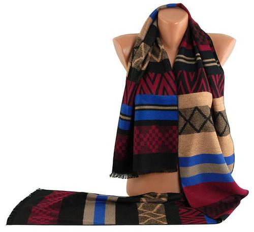 Оригинальный теплый мужской шарф Traum 2492-22