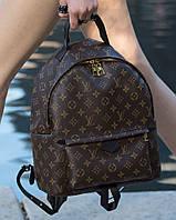 Крутой женский рюкзак LOUIS VUITTON PALM SPRING большой натур. кожа