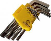 Набор ключей Сталь Г-образных HEX 48101 9 шт (44524)