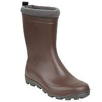 Зимние резиновые сапоги детские, чоботи гумові Solognac Glenarm коричневые
