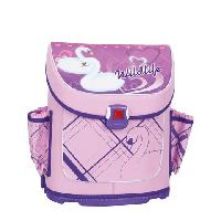 Ортопедический ранец для девочки Tiger 1816 лебеди