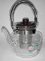 Заварочный чайник стеклянный, 800 мл