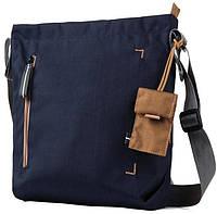 Компактная женская сумка для планшета 10 Crumpler Doozie Shoulder S (dark navy/copper) DZS-S-008 тёмно-синий