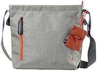Наплечная женская сумка для планшета 10 Crumpler Doozie Shoulder S (washed oatmeal/tangerine) DZS-S-009 серый