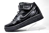 Зимние кроссовки мужские Nike Air Force Mid на меху