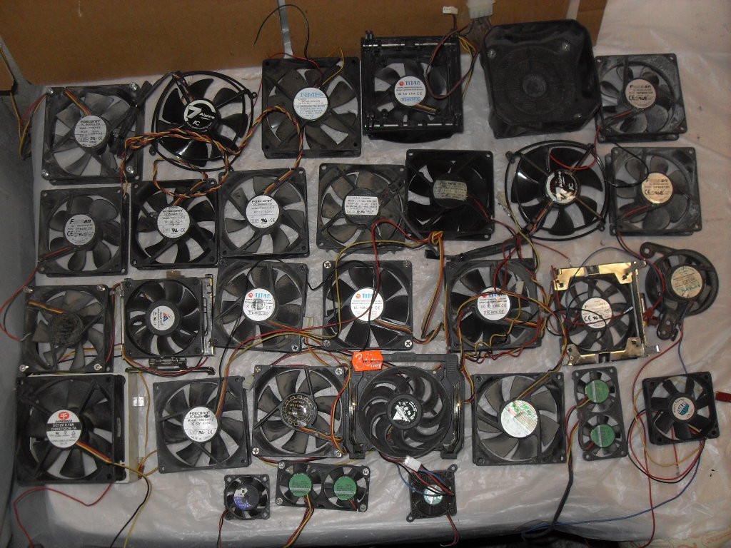 Мегалот вентиляторі 30шт