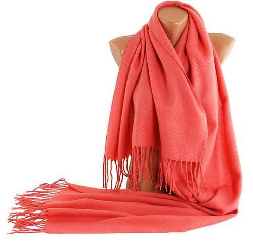 Сдержанный женский теплый шарф Traum 2493-45