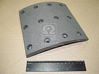 Накладка тормозная КамАЗ-6520 ЕВРО сверл. (18 / 10, 180мм)  (производство Дорожная карта ), код запчасти: 6520-3501105B