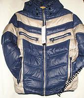 Курточка мужская деми сине-бежевая 50р