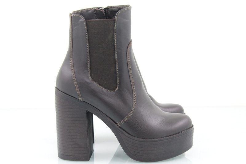 Кожаные ботинки 36 - 40 рр.