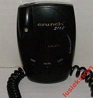 Антирадар Радар-детектор Crunch 2110 б/у рабочий
