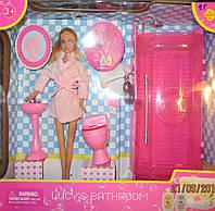 Игровой набор Барби и душевая комната