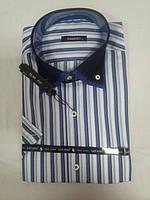 Мужские рубашки натуральный хлопок ОГ102-112