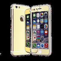 Зеркальное защитное стекло для iPhone 6/6s Plus