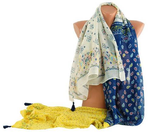 Оригинальный, легкий женский шарф Traum 2495-00