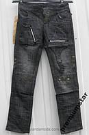 Детские джинсы ОТ 64-74 черные