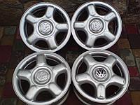 Диски VW Golf3,Polo3,Passat R14 W6 PCD4x100 ET43 DIA57