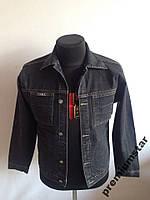 Пиджак джинсовый подростковый черный