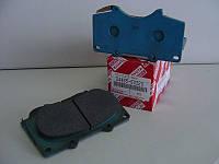 Колодки тормозные передние, комплект (производство TOYOTA ), код запчасти: 0446560320