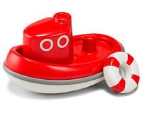 """Kid O - игрушка для игры в воде """"Кораблик"""" Красный"""
