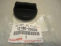 Крышка заловной горловины масла двигателя (производство TOYOTA ), код запчасти: 1218020030
