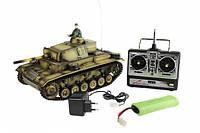 """Танк игрушечный на р/у """" r/c Panzerkampfwagen III"""" 1:16"""