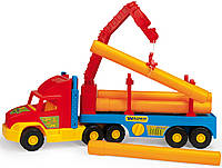 Машинка Строительный тягач серия «Super Truck» Wader, 36540, Вадер