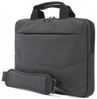"""Изящная деловая сумка для ноутбука/ультрабука 13"""" Tucano Linea (Black) BLIN13 черный"""