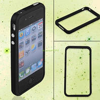 Бампер для Apple Iphone 4 4S Black