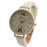 Часы наручные Женева бежевые арт. 067