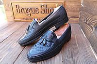 Мужские  туфли лоферы  Clarks, 44 размер, длина по стельке - 29 см.  Код: 007.