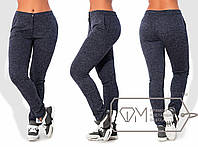 Женские спортивные штаны в больших размерах g-1515857