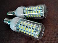 Лампы Светодиодные 18w. 56-чипов.Е14. Холодный свет.