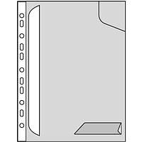 Папка-уголок Leitz Combifile, плотный, прозрачный, упак.3 шт.