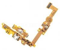 Шлейф для LG E450/ E451G/ E460 с разъемом зарядки,кнопкой Меню (Home), подсветкой сенсорных кнопок, микрофоном