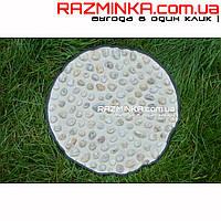 Массажный коврик для ног с натуральной галькой (диаметр 44 см)