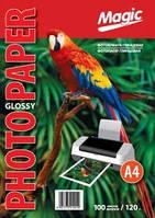Фотобумага Magic A4 Glossy Photo Paper 120g (100)