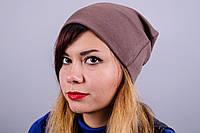 Фэшн. Молодёжные женские шапки. Темно бежевый.
