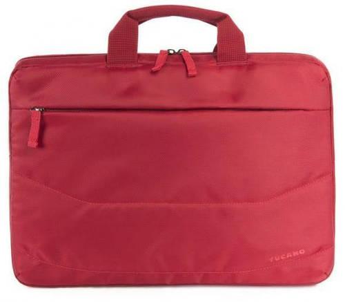 """Легкая женская сумка для ноутбука Tucano IDEA COMPUTER BAG 15.6"""" (RED) B-IDEA-R красный"""