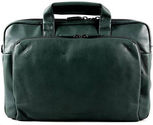 """Сумка премиум класса для гаджетов до 15"""" Tucano One Premium Slim case (Dark green) BFOMP15-VS темный зеленый"""