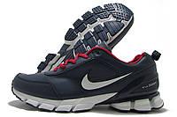Кроссовки мужские Nike Zoom темно-синие (найк)
