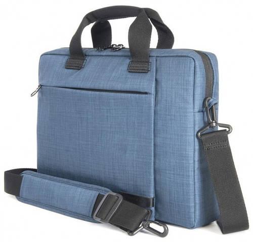 """Мужская надежная сумка для ноута/ультрабука Tucano SVOLTA SLIM BAG PC 13.3""""/14"""" (BLUE) BSVO1314-B синий"""