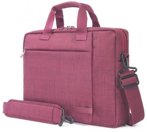 """Женская сумка для ноутбука/ультрабука Tucano SVOLTA SLIM BAG PC 13.3""""/14"""" (BURGUNDY) BSVO1314-BX бургунди"""