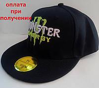 Кепка Monster бейсболка черная